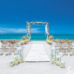 sandals wedding on the beach