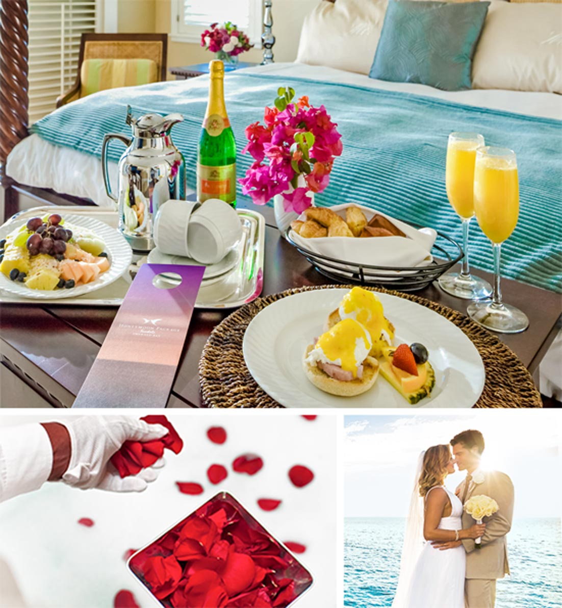 honeymoons at sandals resorts