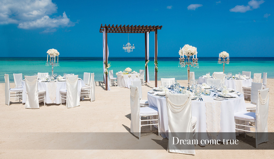 sandals wedding in the Caribbean - a dream come true