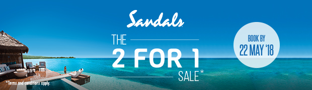 Sandals 2 for 1 Sale