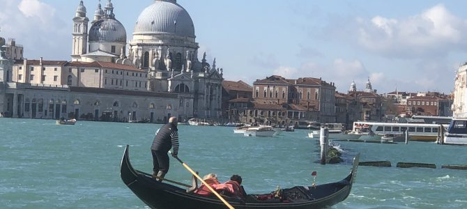 Venice the home of gondolas, canals and bridges