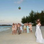 beach wedding at shandrani mauritius